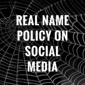 Real Name Policies on Facebook, LinkedIn, Quora and Google Plus: Clarified