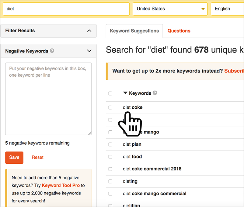5 Awesome Free Keyword Research Tools (Based on Search Suggestions)