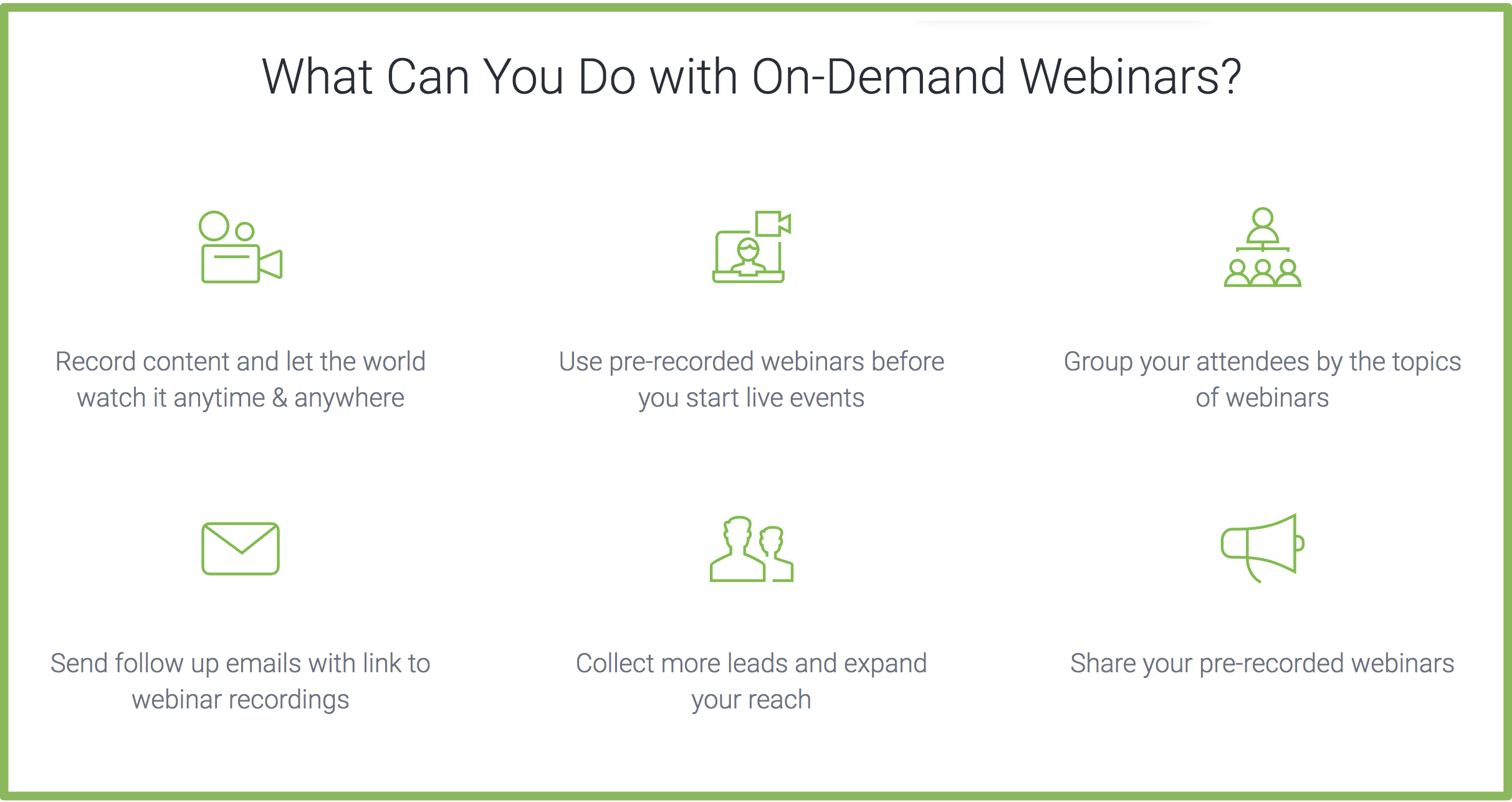 Clickmeeting on demand