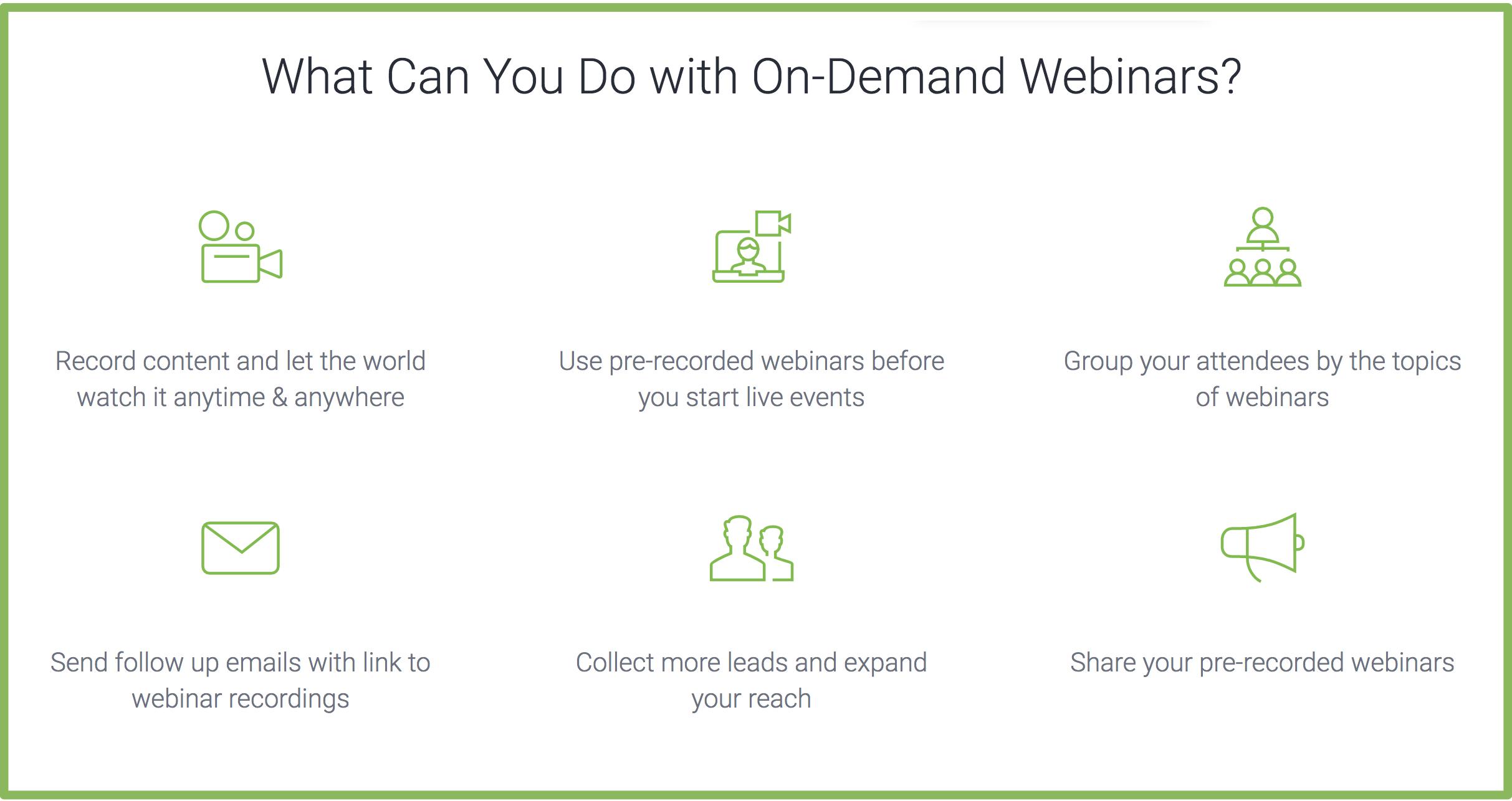 Clickmeeting on demand